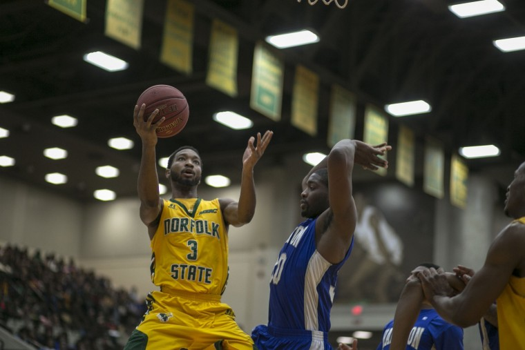 Norfolk State Spartans hold off rival Hampton Pir...