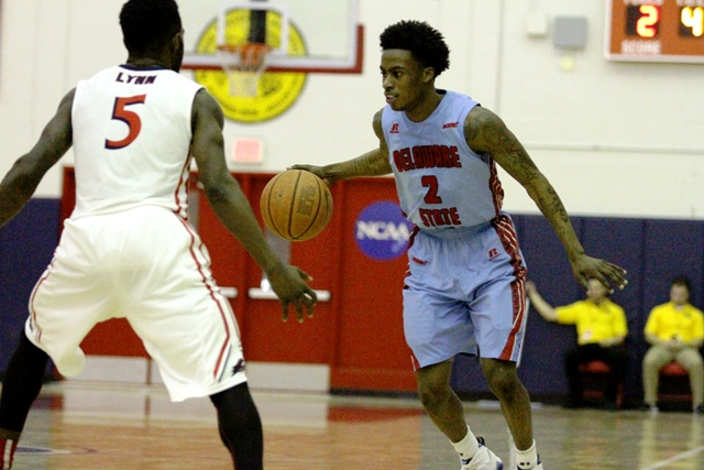 Delaware State Hornets can't keep up with NJ...