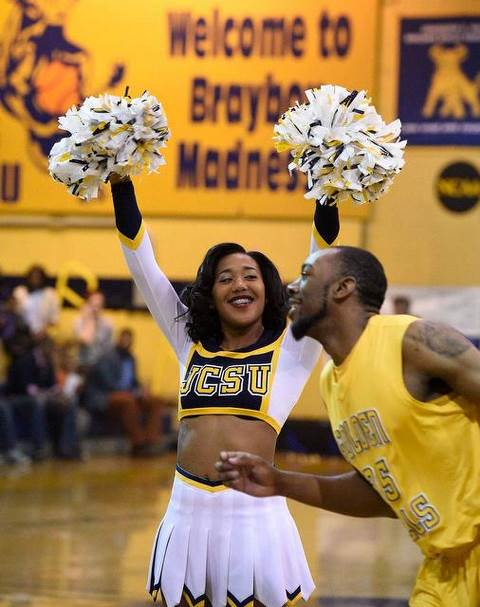 Johnson C. Smith Luv-a-Bulls- cheerleader cheers ...