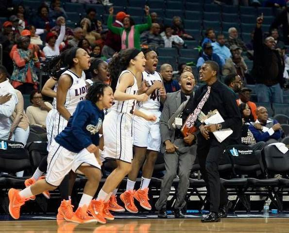 Lincoln University Lady Lions begin to celebrate ...