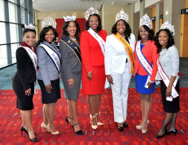 HBCU 2014-2015 Queens at the 2015 CIAA Tournament...