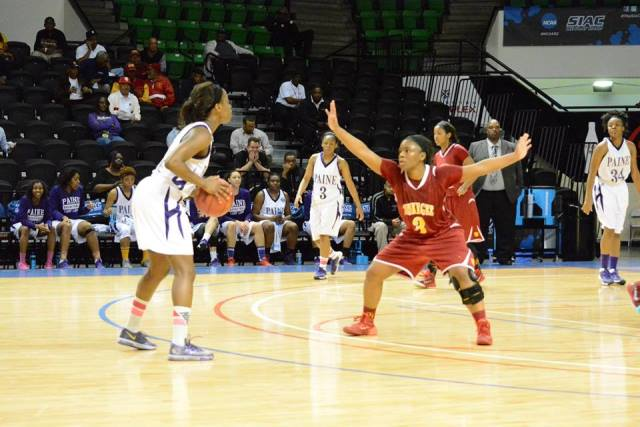 Paine Lady Lions get by Tuskegee Lady Golden Tige...