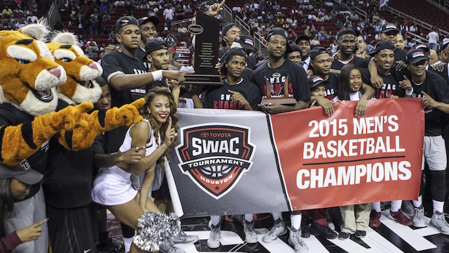 Texas Southern Tigers 2015 SWAC Champions