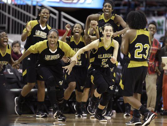Alabama State women win 2015 SWAC Tournament, ear...