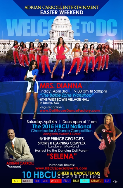 2015 HBCU National Cheer and Dance Competition