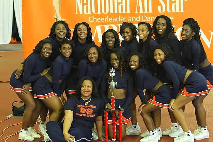 Lincoln Cheerleaders win big at National HBCU Che...