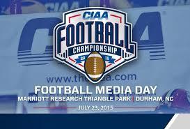 CIAA Football Media Day set to Open 2015 Season
