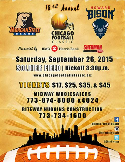 18th Annual Chicago Football Classic 2015
