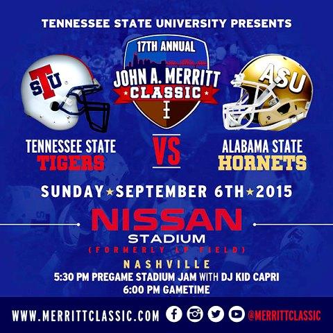 John A. Merritt Classic XVII Alabama State vs Ten...