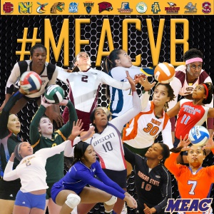Mid-Eastern Athletic Conference (MEAC) volleyball...