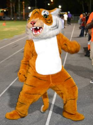 Edward Waters College Tiger mascot is ready for 2...