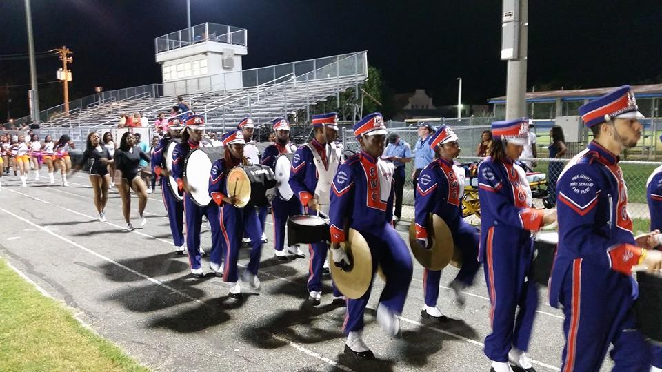 Edward Waters College Tiger marching band