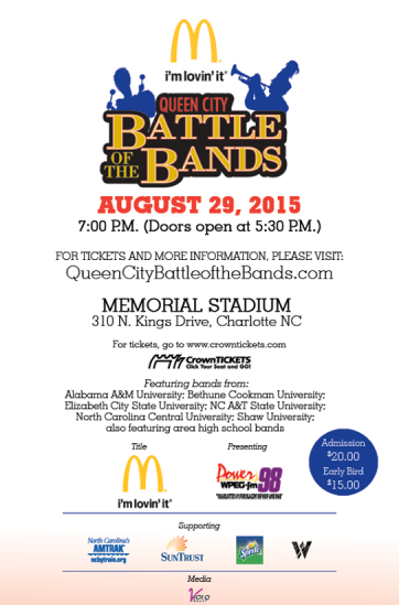 The Queen City Battle of the Bands 2015