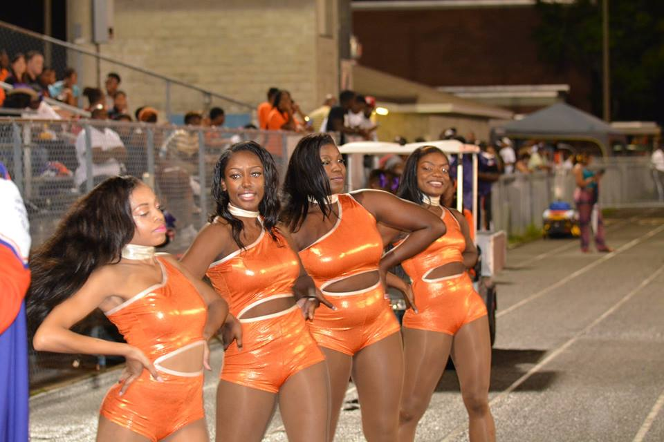 "Edward Waters College ""Thunder Dancers""..."