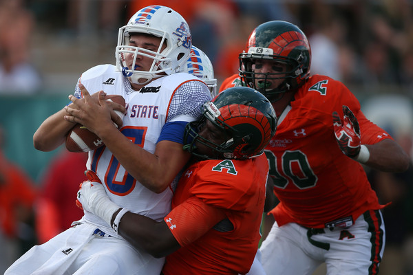 Savannah State Tigers is sacked by Colorado Stat...