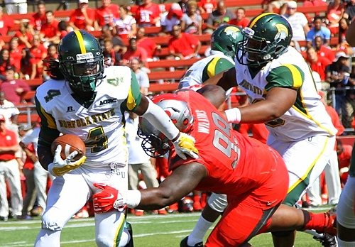 Norfolk State scores first against Rutgers in sea...