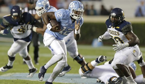 North Carolina A&T Aggies get a beat down from th...