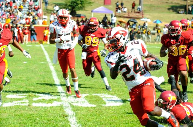 Tuskegee Golden Tigers hold off the Rams of Winst...