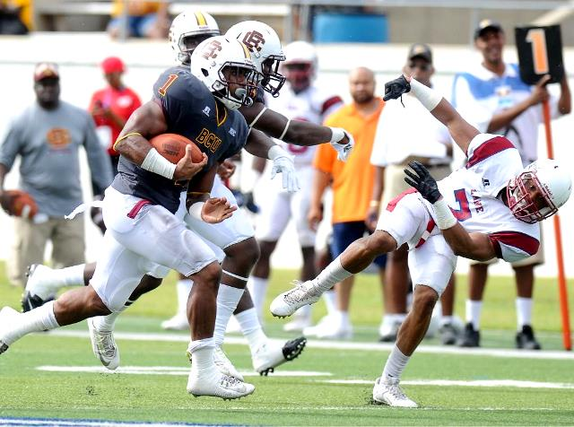 Bethune-Cookman Wildcats held off the resilient L...