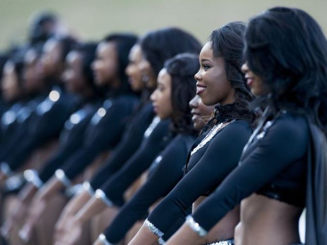 Alabama State Stingettes are ready to take the fi...