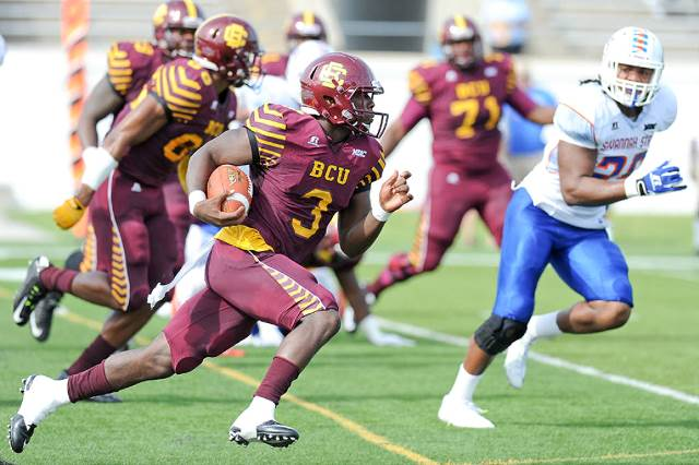 Bethune-Cookman defeated Savannah State in a Mid-...