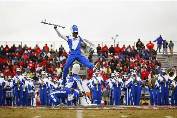 Elizabeth City State Sound of Class marching band...