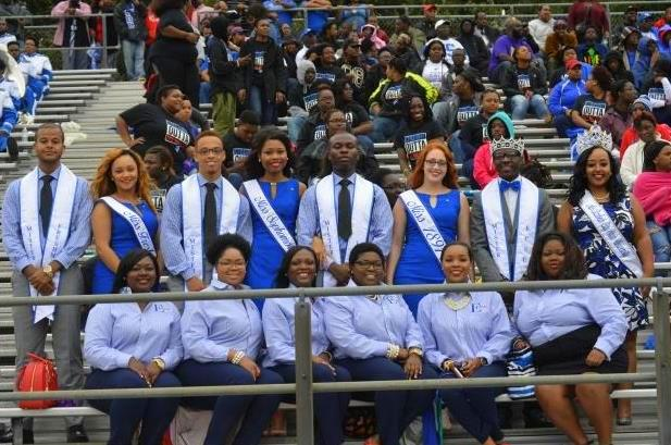Elizabeth City State 2015-2016 court at the 18th ...