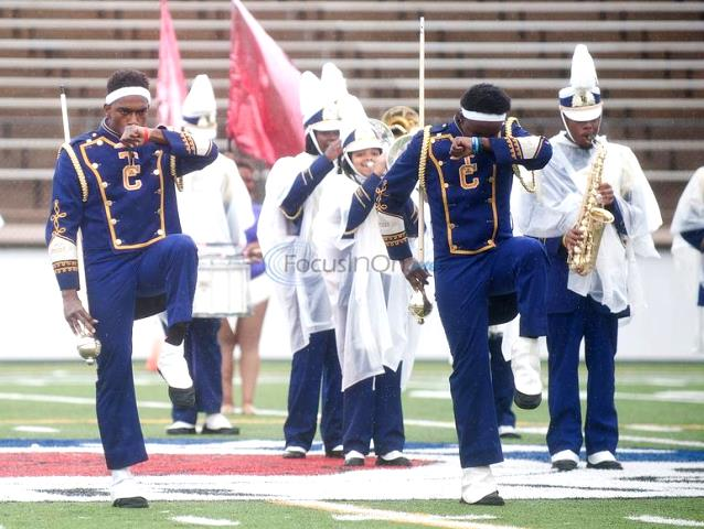 Texas College marching band takes the field