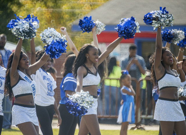 Fayetteville State University  Cheer Phi Smoov ch...