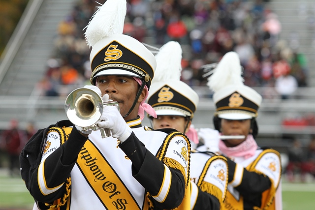 Bowie State Symphony of Soul Marching band perfor...