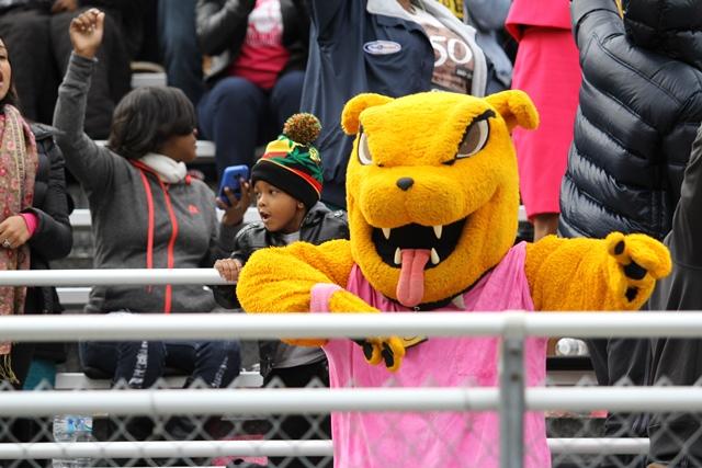 Bowie State University Bulldogs mascot