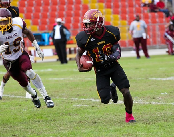 Tuskegee Golden Tigers survive scare against Cent...
