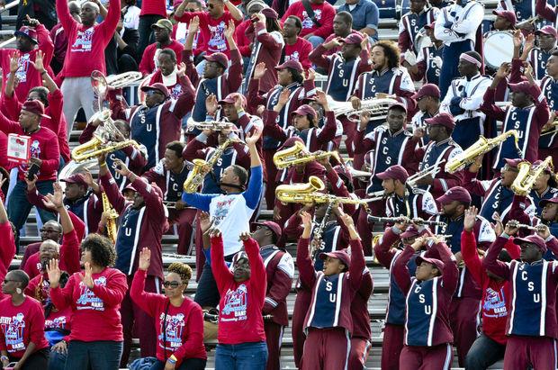 South Carolina State marching 101 band