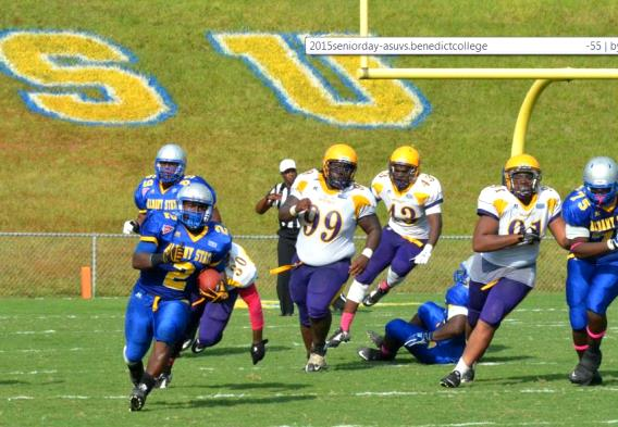 Albany State Golden Rams blitz Benedict Tigers to...