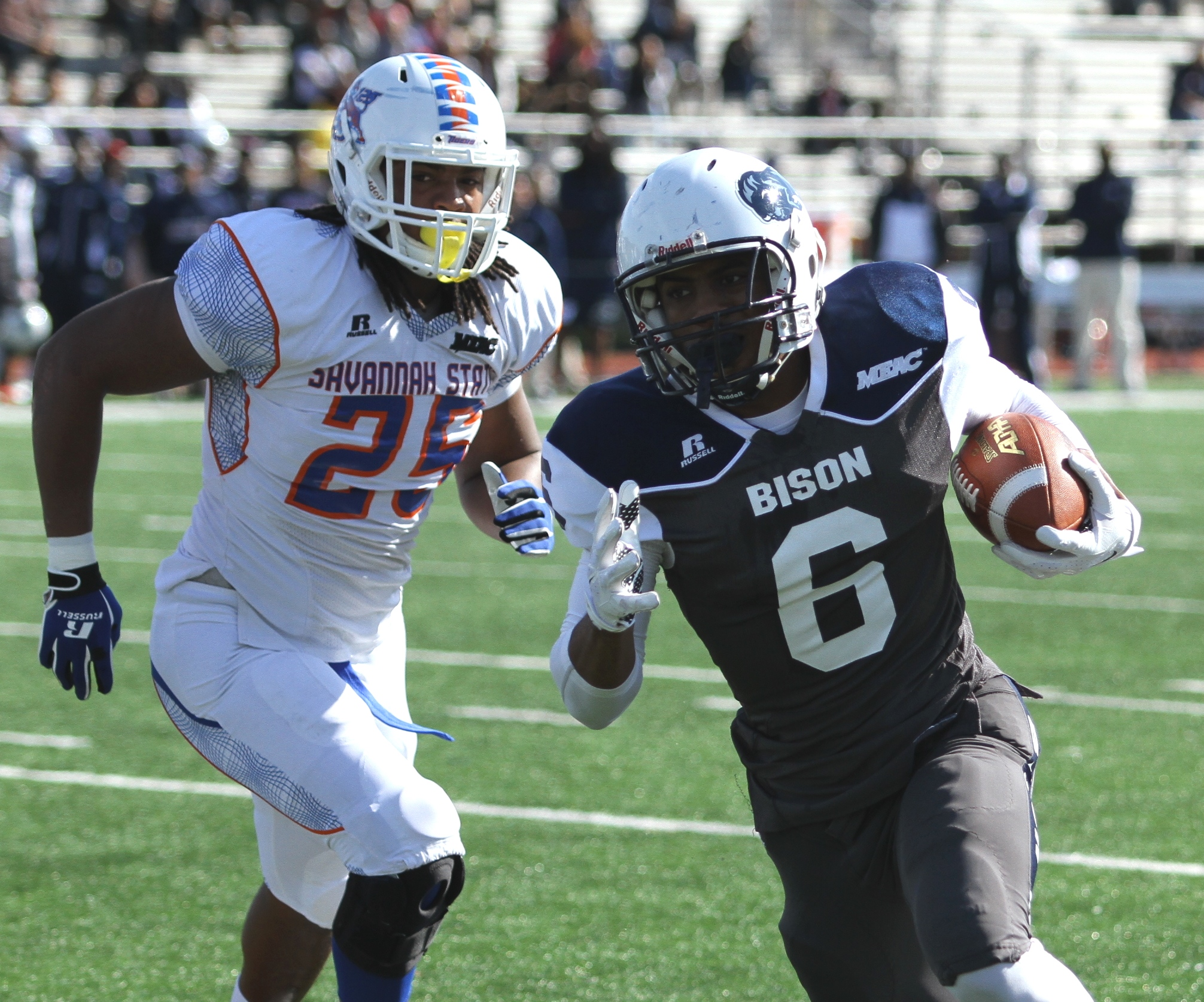Howard Bison pick up first win of the season agai...