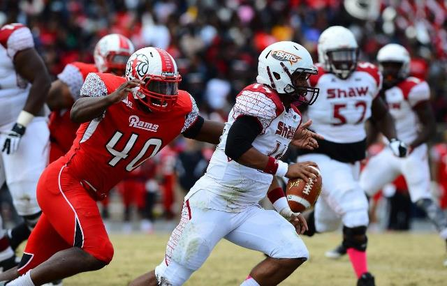 Winston-Salem State Rams drop Homecoming to Shaw ...