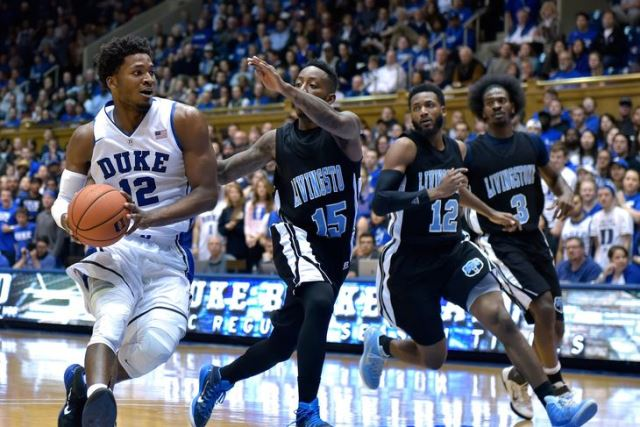 Livingston falls to No. 5 Duke in Exhibition game