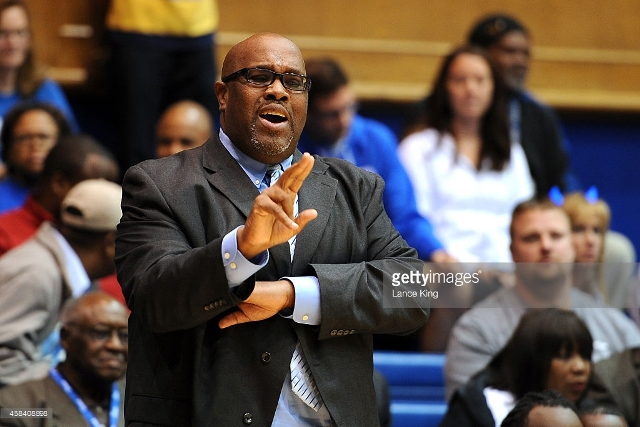 Livingstone Blue Bears Head Coach James Stinson d...