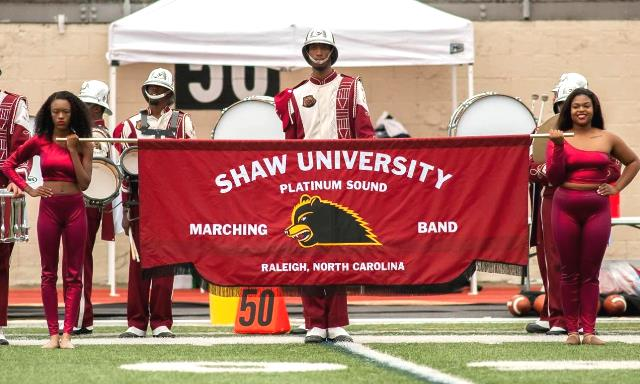 Shaw University marching band is ready to take th...