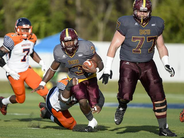 Bethune-Cookman Wildcats take down the Bears of M...