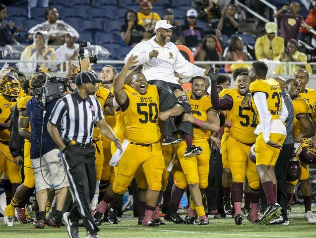 Bethune-Cookman are the 2015 Florida Blue Florida...