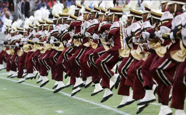 Bethune-Cookman marching Wildcats take the field