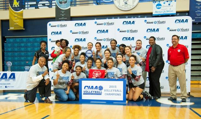 Winston-Salem State Clinches 2015 CIAA Championsh...