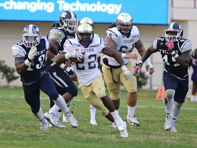 Alcorn State Braves hold off Jackson State Tigers