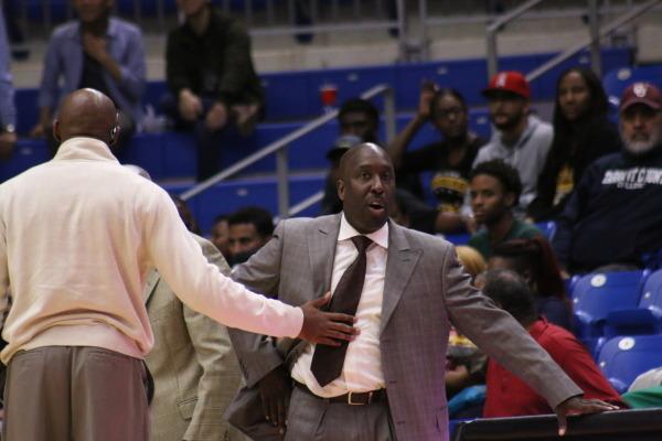 Grambling State head coach Shawn Walker