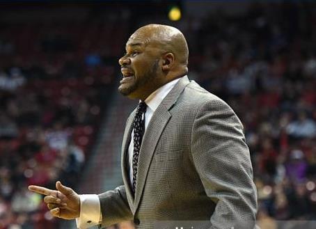 Prairie View A&M University Head coach Byron Rimm...