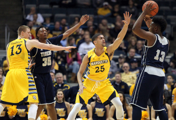 Marquette pasts Jackson State