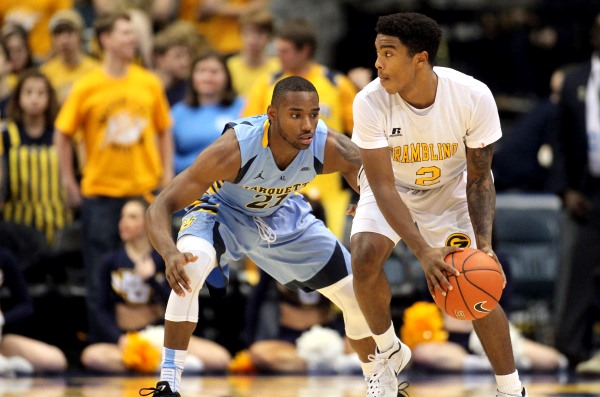 Marquette Golden Eagles roll past Grambling State...