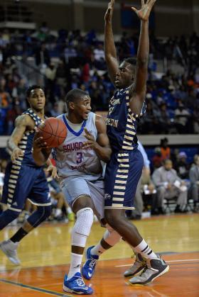 Savannah State men's basketball team takes d...