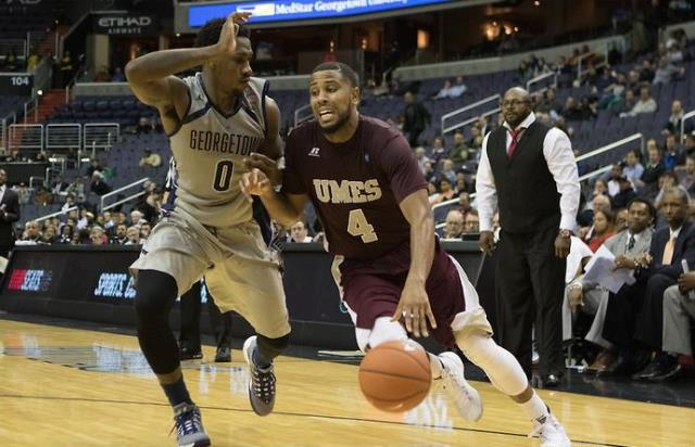 Maryland Eastern Shore falls to Georgetown Hoyas